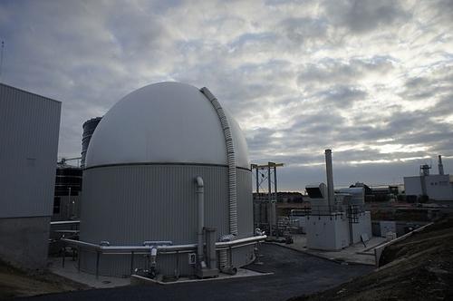 ایستگاه بیوگاز برای تولید انرژی از دورریز غذا