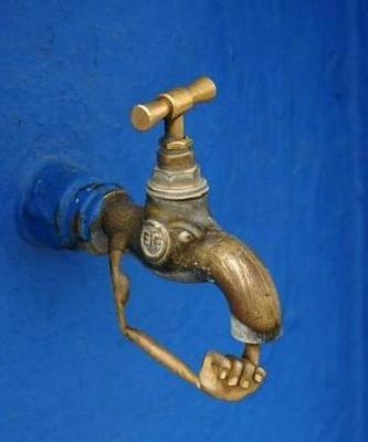 جلوگیری از هدر رفتن آب منازل