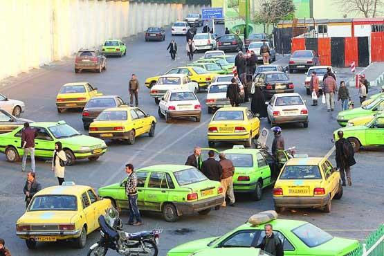 مشکل پر نشدن تاکسیهای خطی و سواری های گذری