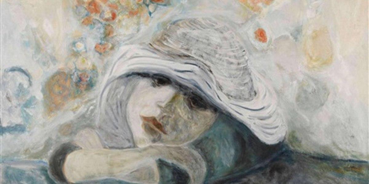 Bernard-Stern-Dreamy-girl-1972-Image-courtesy-of-Sylvan-Cole-Gallery