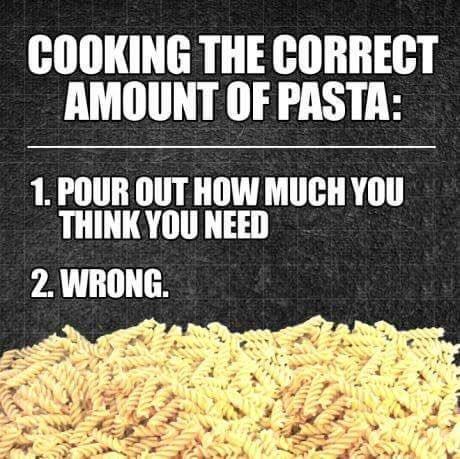 پخت غذا به اندازه لازم و کافی